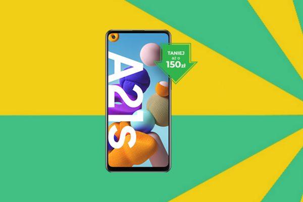 Samsung Galaxy A21s promocja