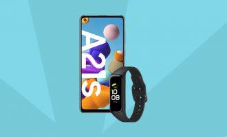Samsung Galaxy A21s + Fit 2 w Plushu