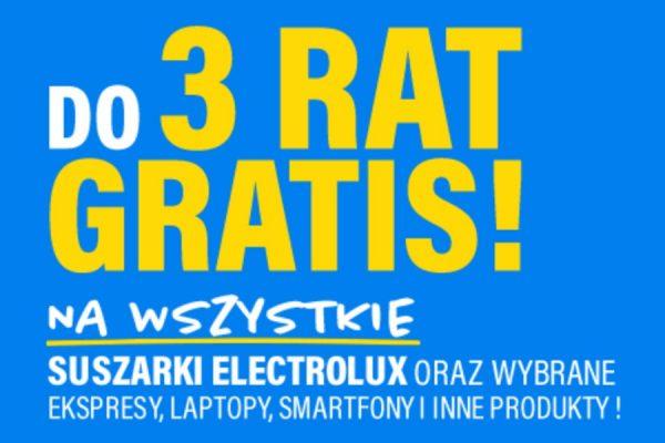 3 raty gratis RTV EURO AGD