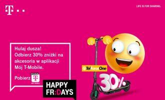 Happy Fridays w T-Mobile – rabat 30% na akcesoria TelForceOne