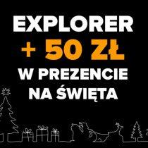 HAMMER Explorer w Play + 50 zł na Święta