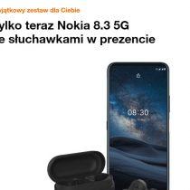 Nokia 8.3 5G + prezent w Orange za 0 zł