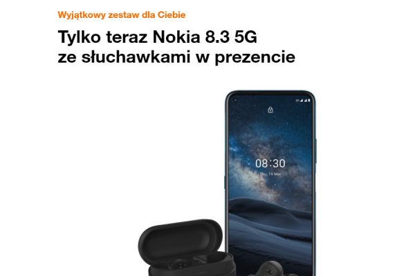 Nokia 8.3 5G promocja