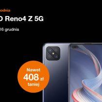 Oferta tygodnia Orange – OPPO Reno 4Z 5G taniej o ponad 400 zł