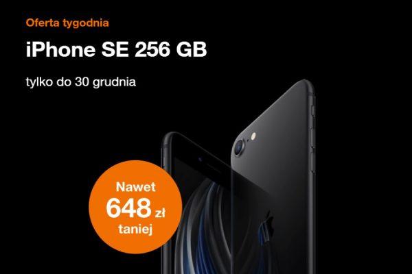 iPhone SE 2020 promocja