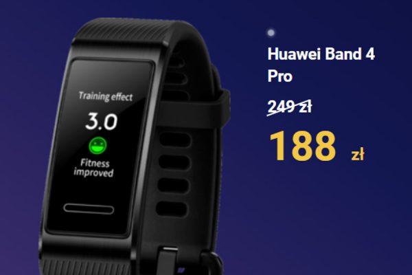 Huawei Band 4 Pro promocja