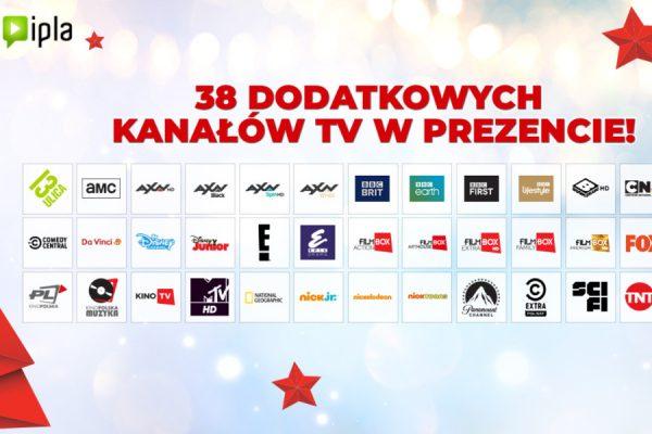 IPLA kanały TV na Święta