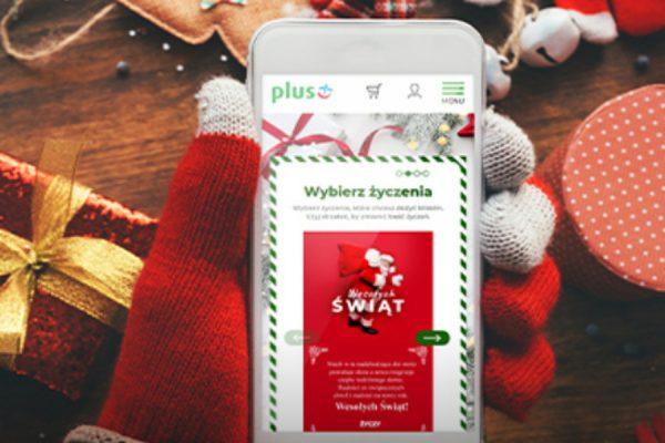 e-kartka z życzeniami w Plusie