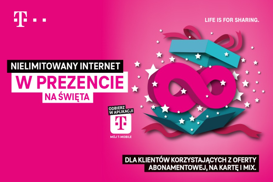 T-Mobile GB bez limitu promocja
