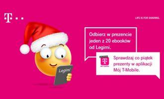 Happy Fridays w T-Mobile – Synchrobooki Legimi na Mikołajki