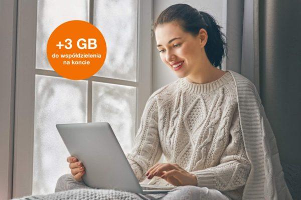 Orange promocja +3 GB