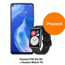 Huawei P40 lite 5G + Watch Fit w Orange za 0 zł