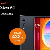 Oferta tygodnia Orange – LG Velvet taniej nawet o 432 zł