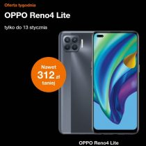 Oferta tygodnia Orange – OPPO Reno 4 Lite taniej o 312 zł