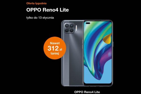 OPPO Reno 4 Lite promocja