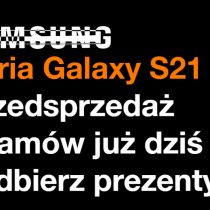 Samsung Galaxy S21 w Orange – przedsprzedaż
