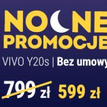 Nocna promocja Play – przecena vivo Y20s