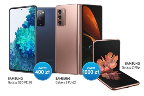 Samsung promocja zwrot