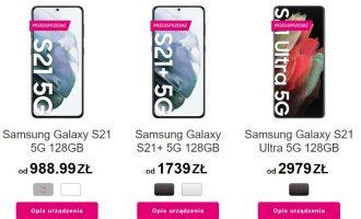 Przedsprzedaż Galaxy S21 w T-Mobile