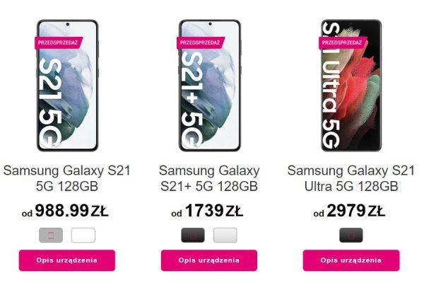 Samsung Galaxy S21 abonament