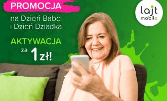 Dzień Babci i Dziadka w lajt mobile – aktywacja za jedyne 1 zł