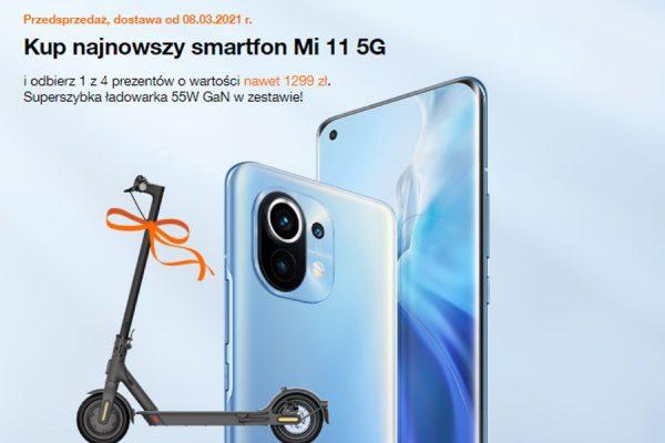 Orange Xiaomi Mi11