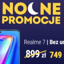 Nocna promocja Play – realme 7 za 749 zł