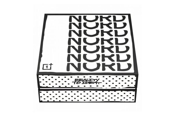 OnePlus grafika pudełko