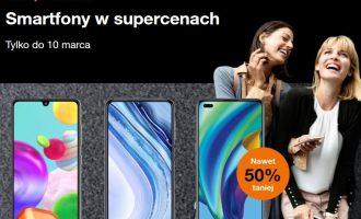 Smartfony w supercenach na Dzień Kobiet w Orange