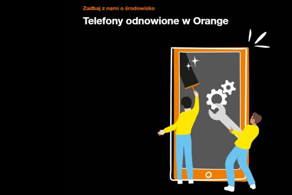 Telefony odnowione Orange
