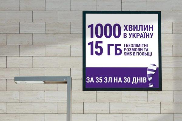 Play na Ukrainę 1000 minut