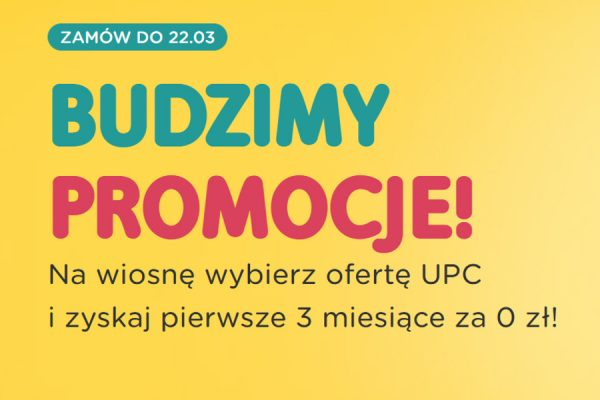 UPC Internet promocja
