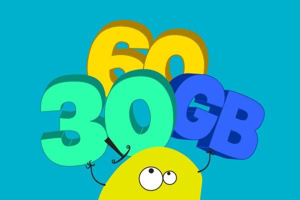 nju mobile 30 GB ekstra