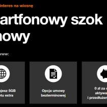 Redmi Note 9 za 0 zł w Orange dla firm