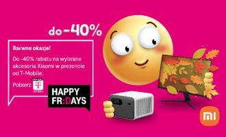 Happy Fridays w T-Mobile – do 40% rabatu na akcesoria Xiaomi
