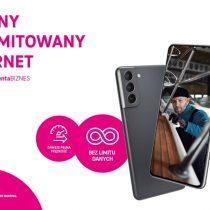 Samsung Galaxy S21 z 3 bezpłatnymi ratami w T-Mobile dla firm