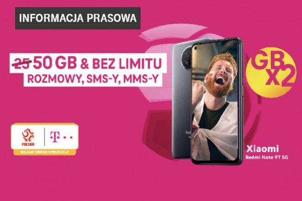 T-Mobile 2x GB promocja