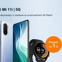 Przedsprzedaż Xiaomi Mi 11i w Orange z prezentem za 1 zł!