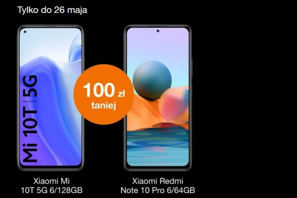 Orange wyprzedaż Xiaomi