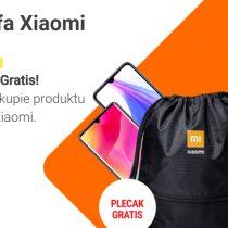Plecak gratis po zakupie Xiaomi w Play