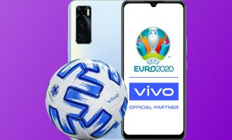 Telefony vivo w Play z piłką UEFA EURO 2020