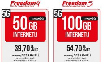2 nowe abonamenty Premium Mobile z 50 i 100 GB 5G!