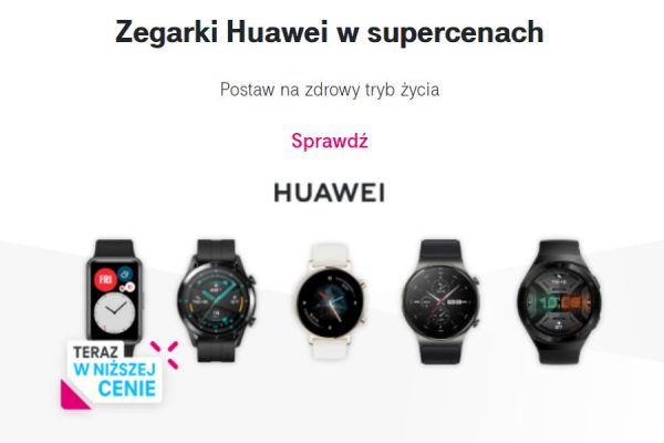 Huawei Watch GT2 promocja