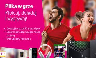 Kibicuj z T-Mobile na EURO 2021 i zgarniaj nagrody!