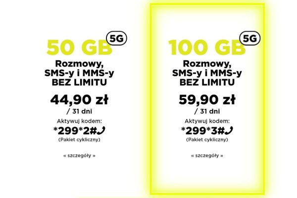 a2mobile 100 GB nowa oferta