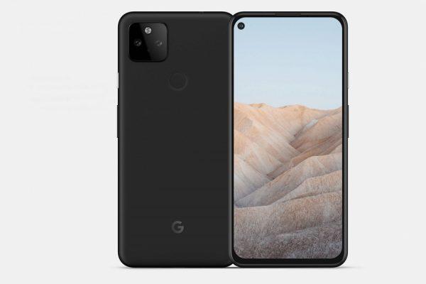 Google Pixel 5a render