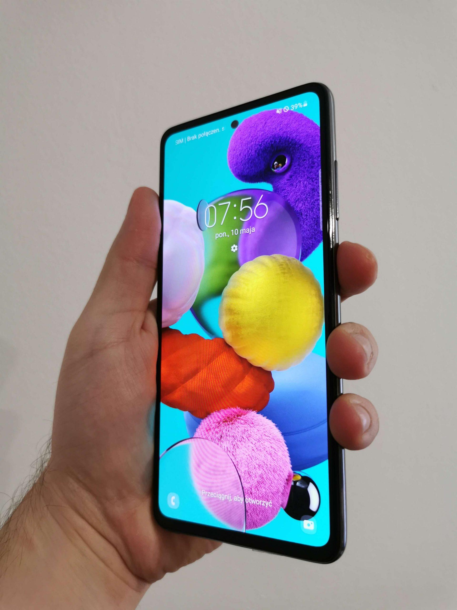 Samsung Galaxy A52 recenzja