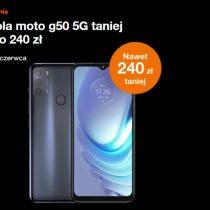Oferta tygodnia Orange – Motorola G50 5G taniej o 240 zł