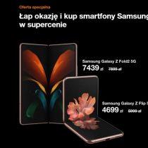 Oferta specjalna Orange – Samsung Galaxy Z Flip taniej o 1300 zł!