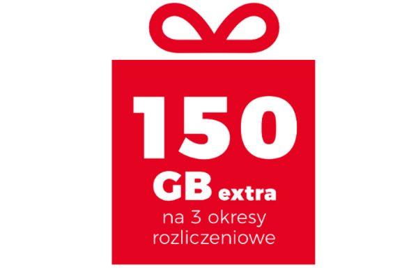 Plus 150 GB promocja